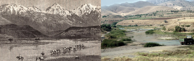 Journeys in Kurdistan, Fording the River