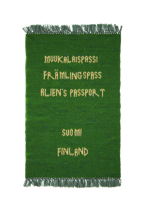 Picture of Fake Passports, Alien Passport