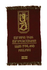Picture of Fake Passports, Finnish Passport